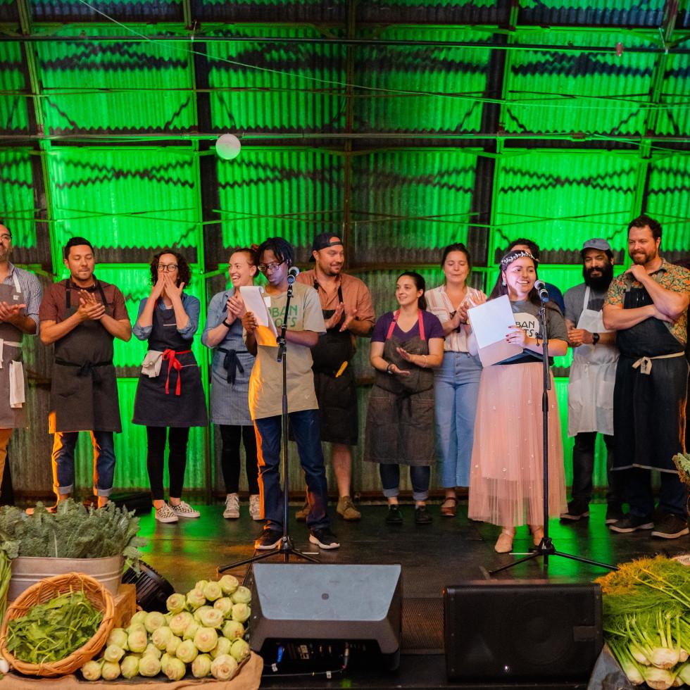 Urban Roots Tour de Farm dinner 2019