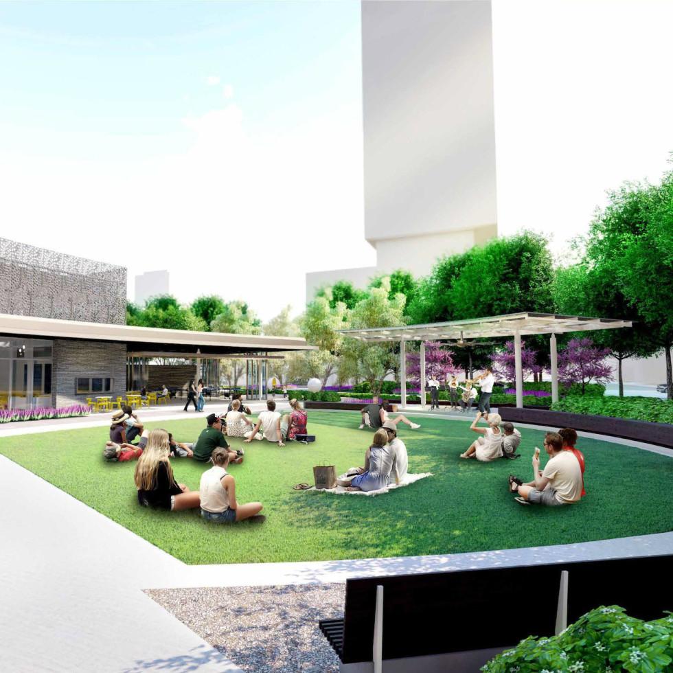 Southern Downtown Park Houston