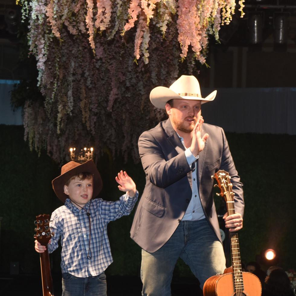 Eli Patterson, 5, Dallas: Josh Abbott