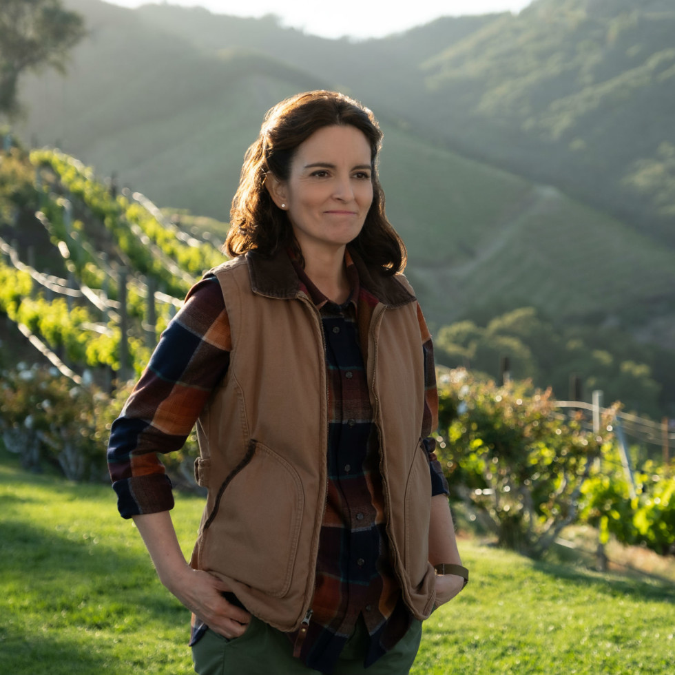Tina Fey in Wine Country