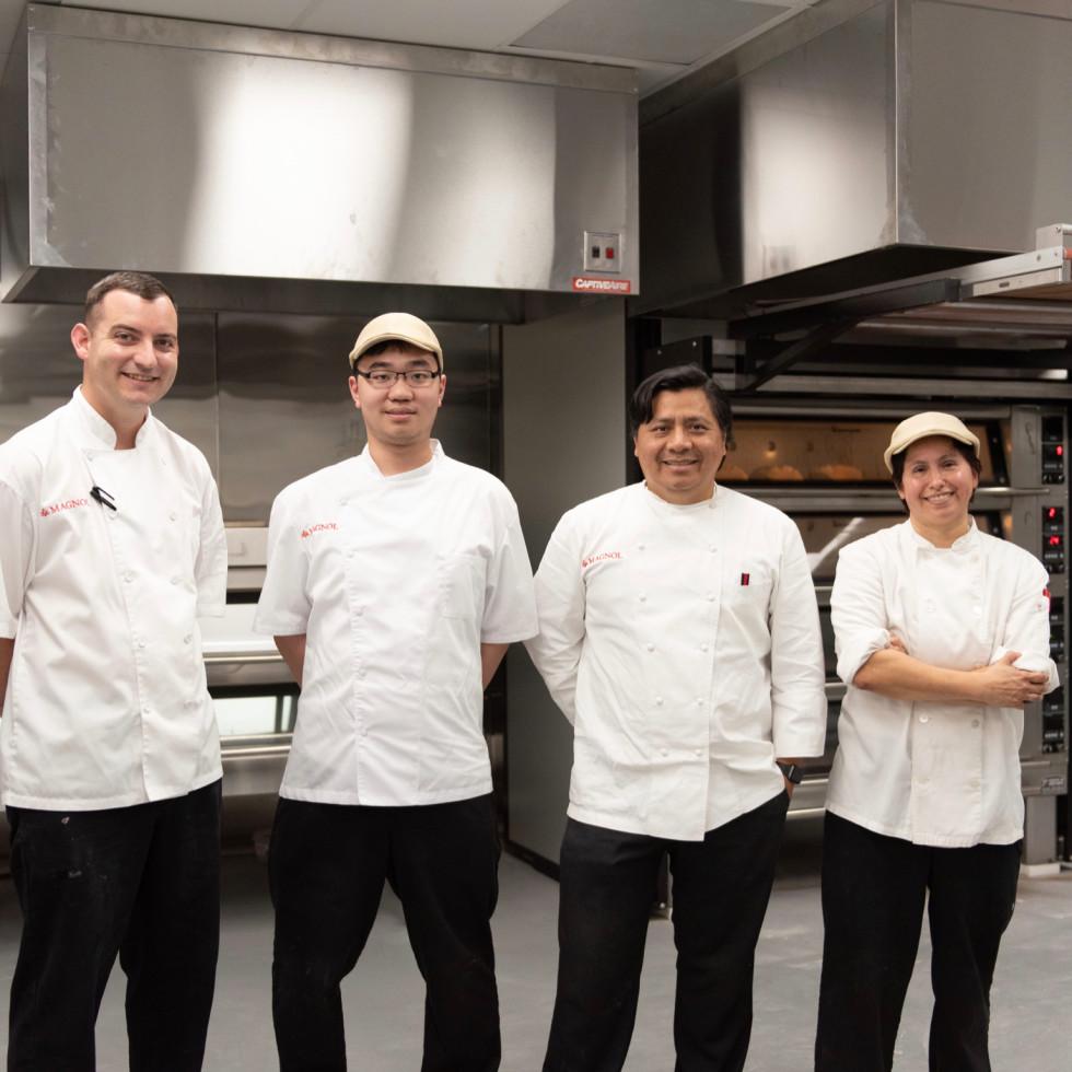 Magnol French Baking Matt Cabon. Joey Wong. Otto Sanchez. Tina Blanco