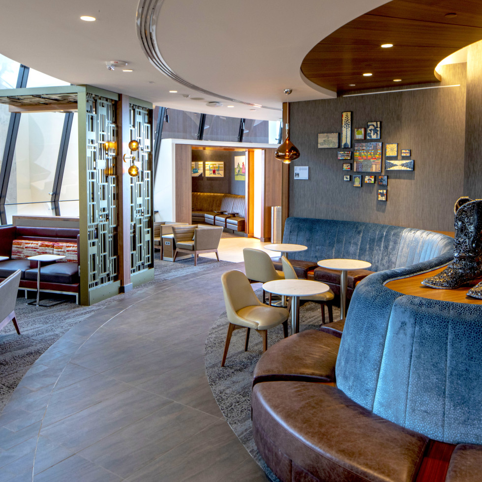 Delta lounge austin bergstrom international airport