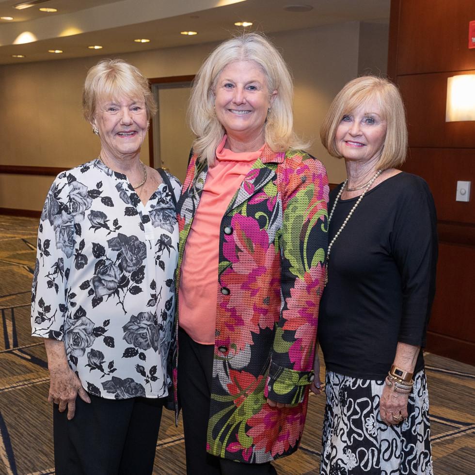 Barbara Nesbitt, Robin Bagwell, Mary Lou Fleming