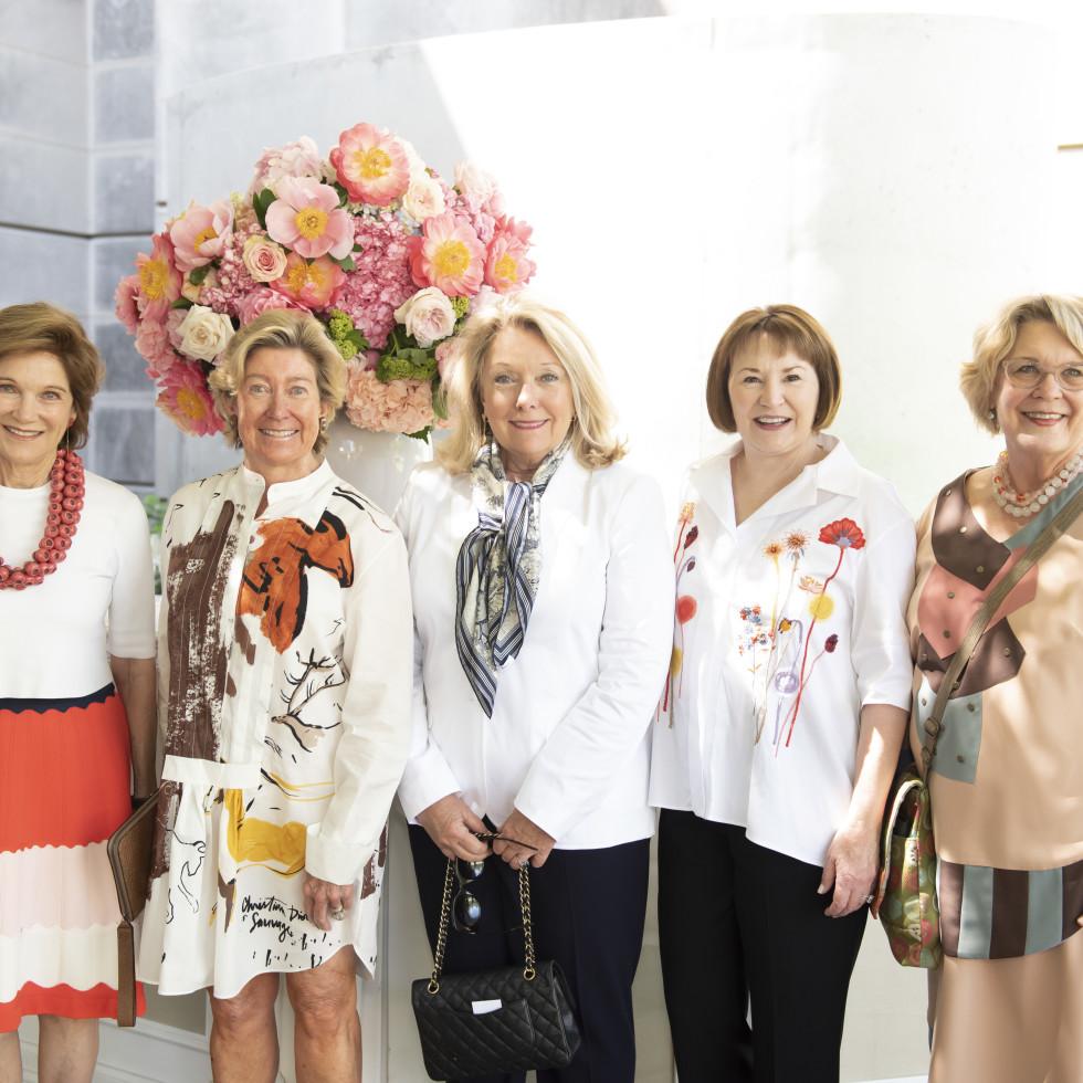 Deedie Rose, Mary Noel Lamont, Jeanne Phillips, Micki Rawlings, Pamela Nelson