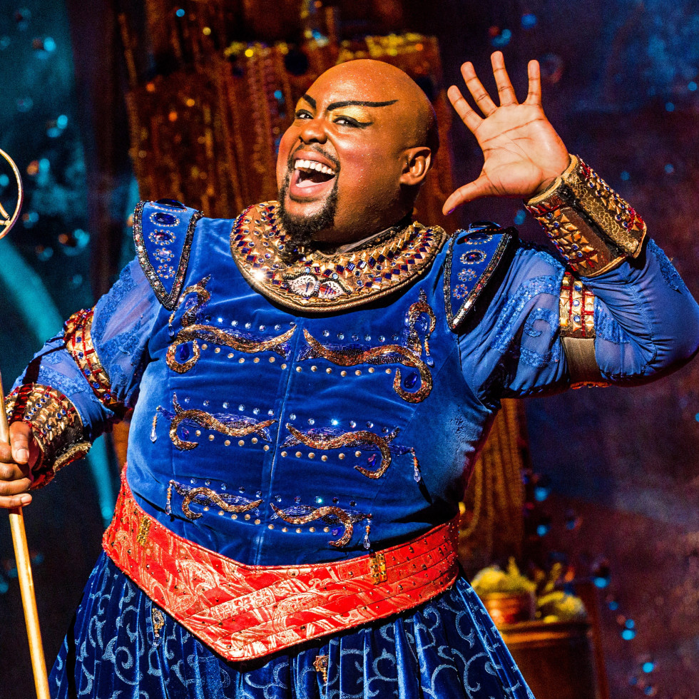 Major Attaway in Aladdin on Broadway
