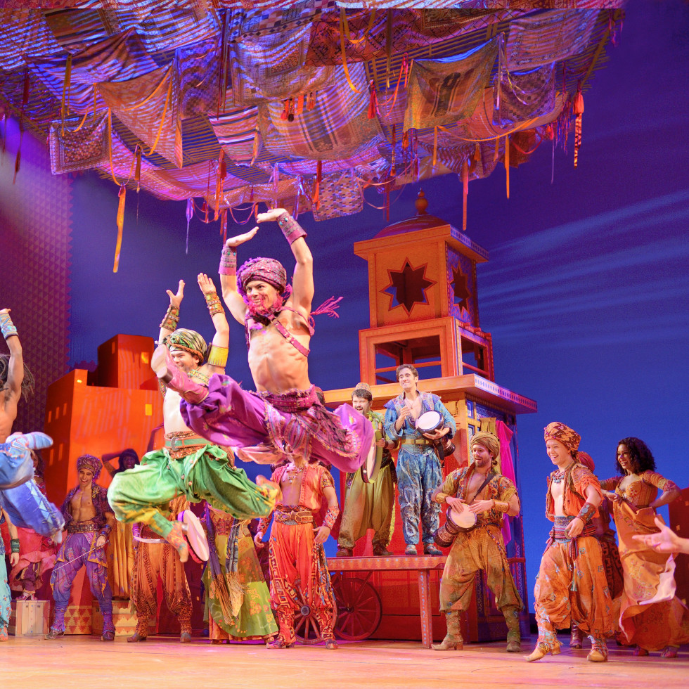 Aladdin national tour Arabian Nights