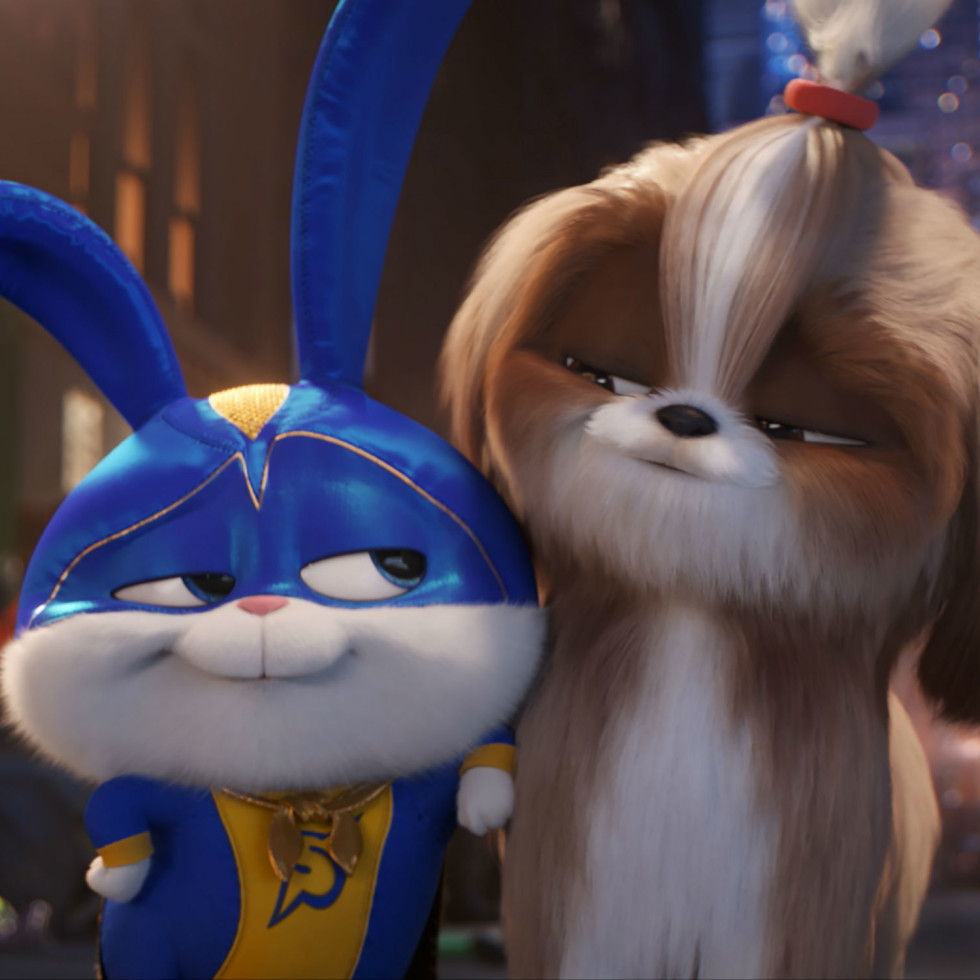 Snowball (Kevin Hart) and Daisy (Tiffany Haddish) in The Secret Life of Pets 2