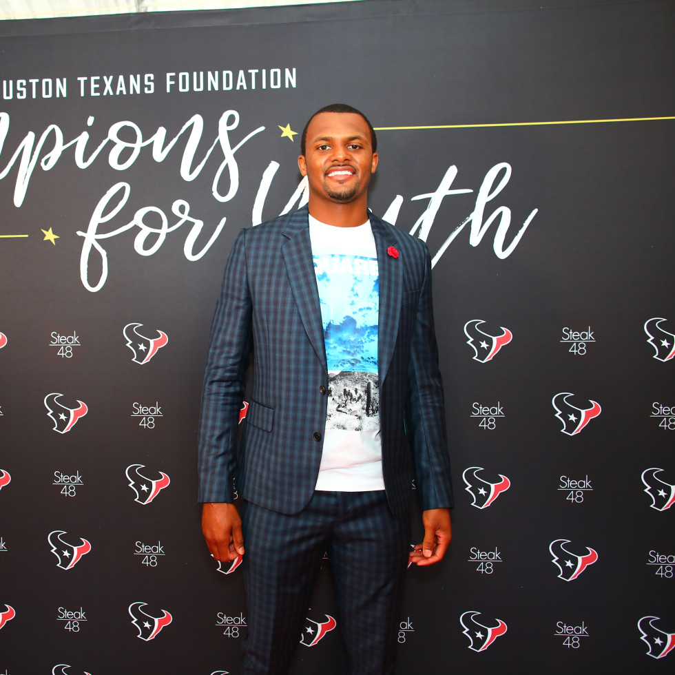 Houston Texans Champions for Youth Dinner Deshaun Watson
