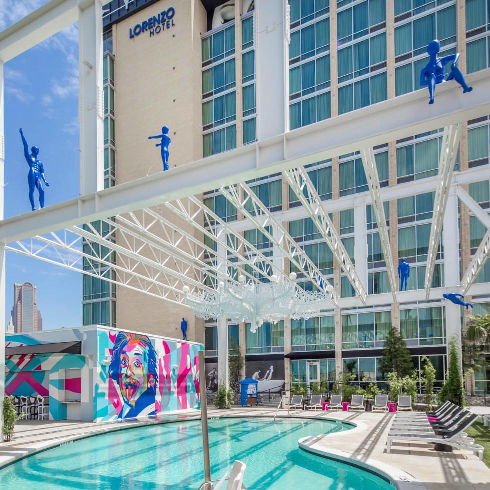 Lorenzo Hotel pool