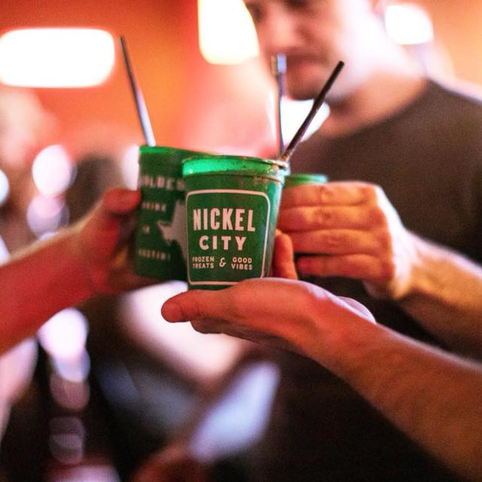 Nickel City Frozen Irish Coffee