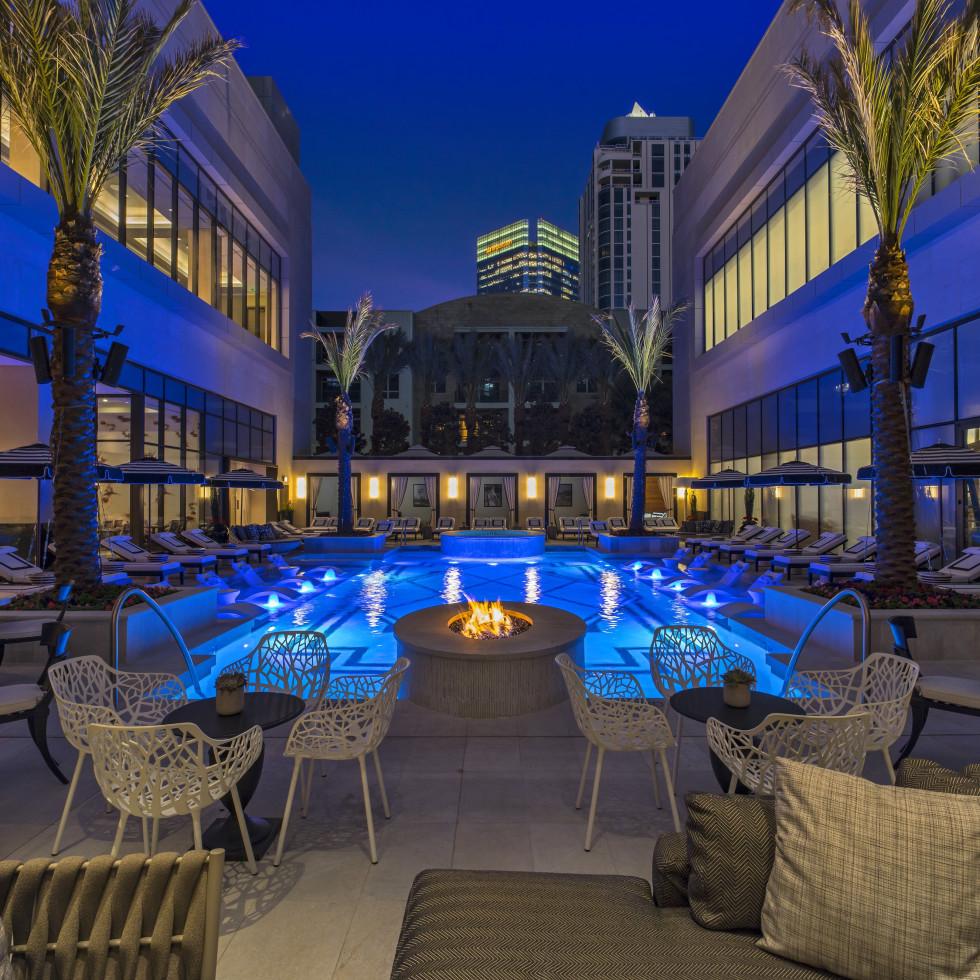 The Post Oak Hotel pool