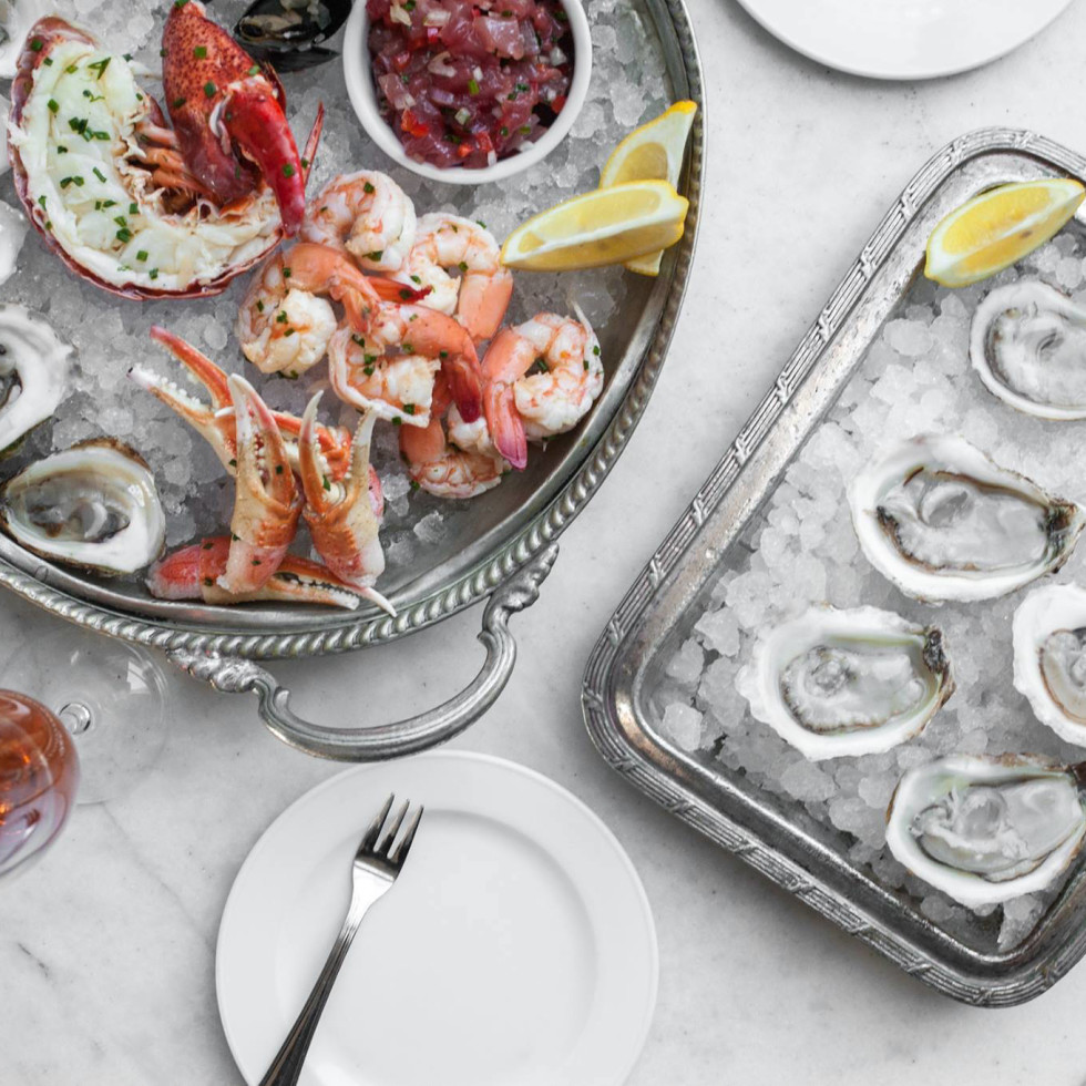 Brasserie 19 oysters