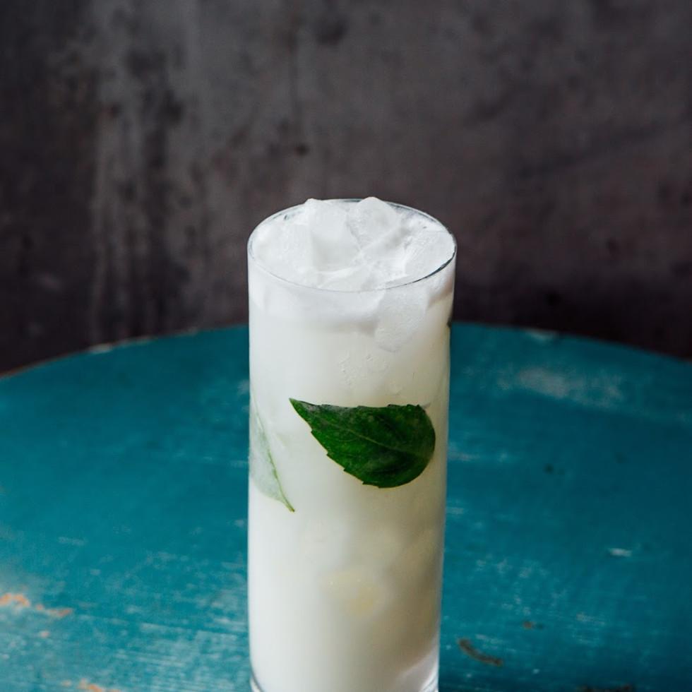 Vixen's Wedding Holy Basil cocktail