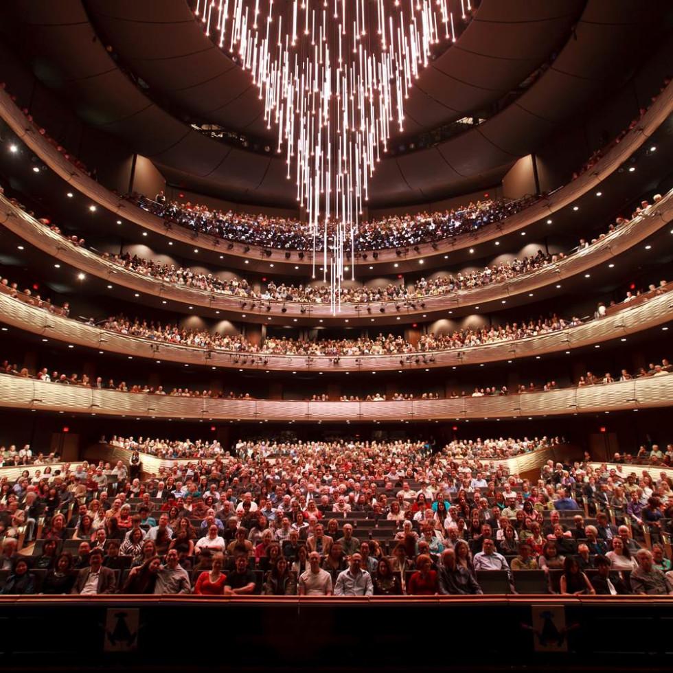Winspear Opera House chandelier