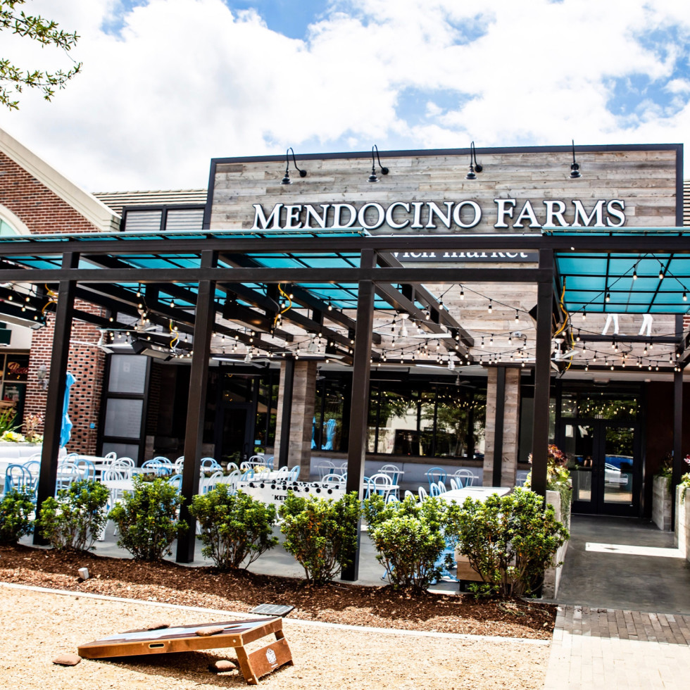 Mendocino Farms Rice Village exterior