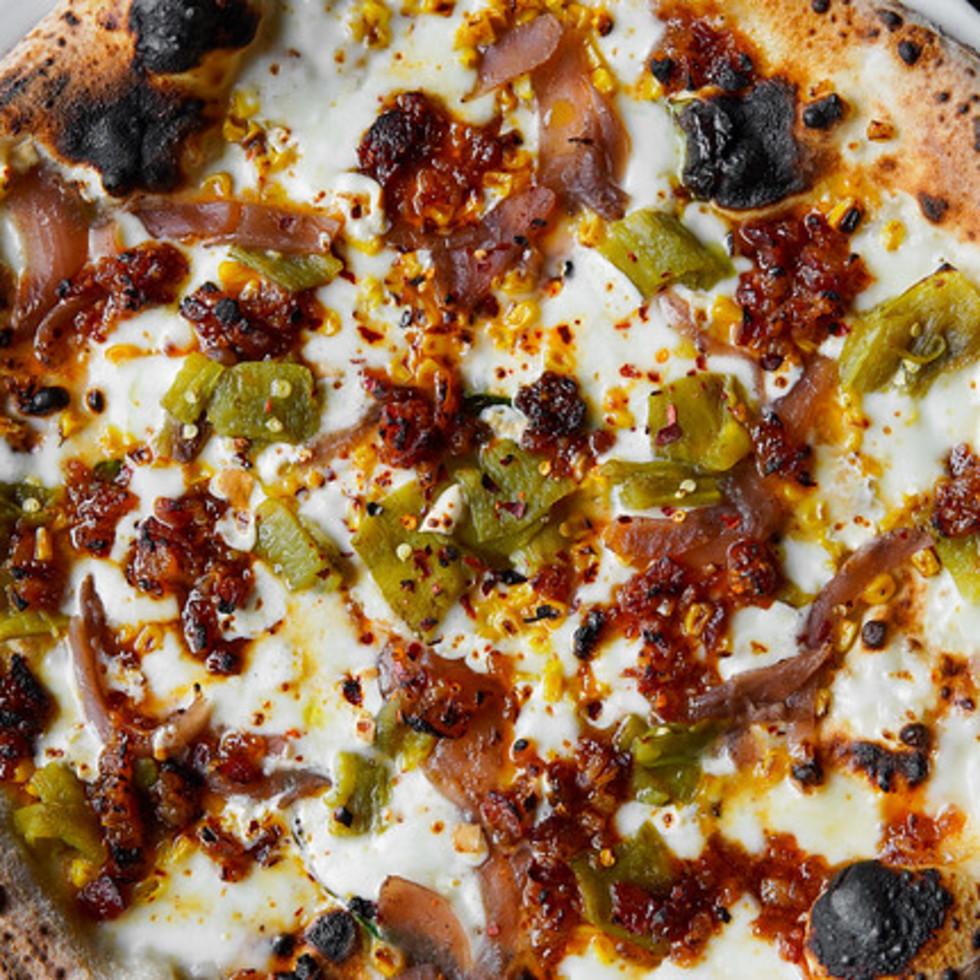 Cane Rosso Escape Hatch pizza
