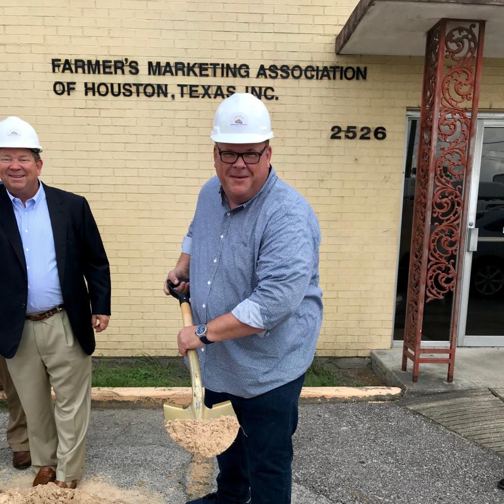 Chris Shepherd Houston Farmers Market groundbreaking