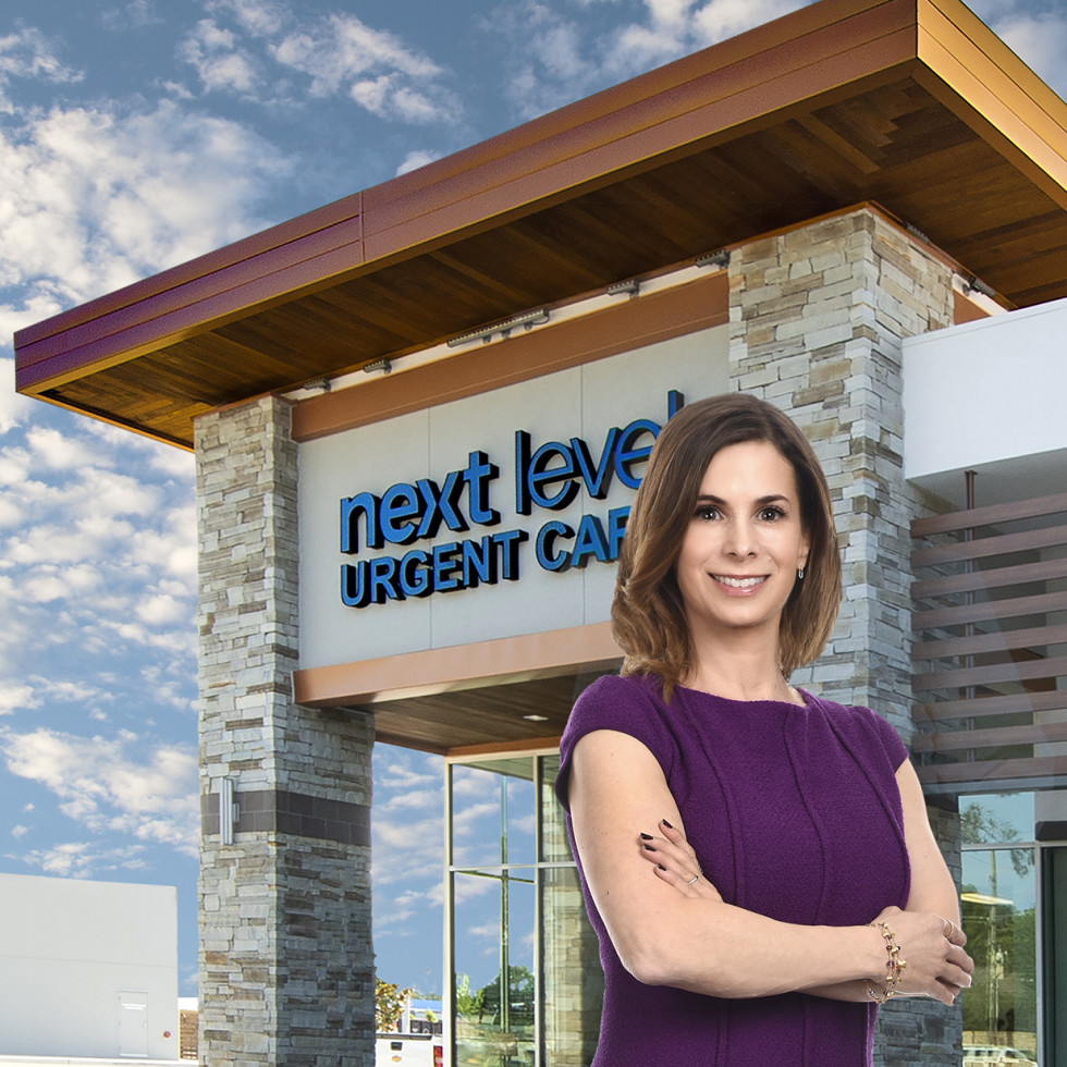 Next Level Urgent Care founder Juliet Breeze