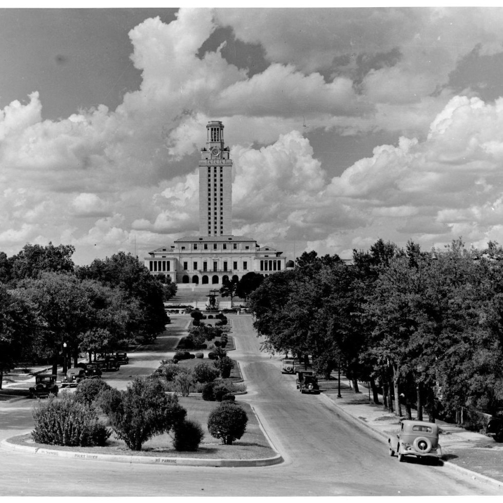 University of Texas tower campus historical