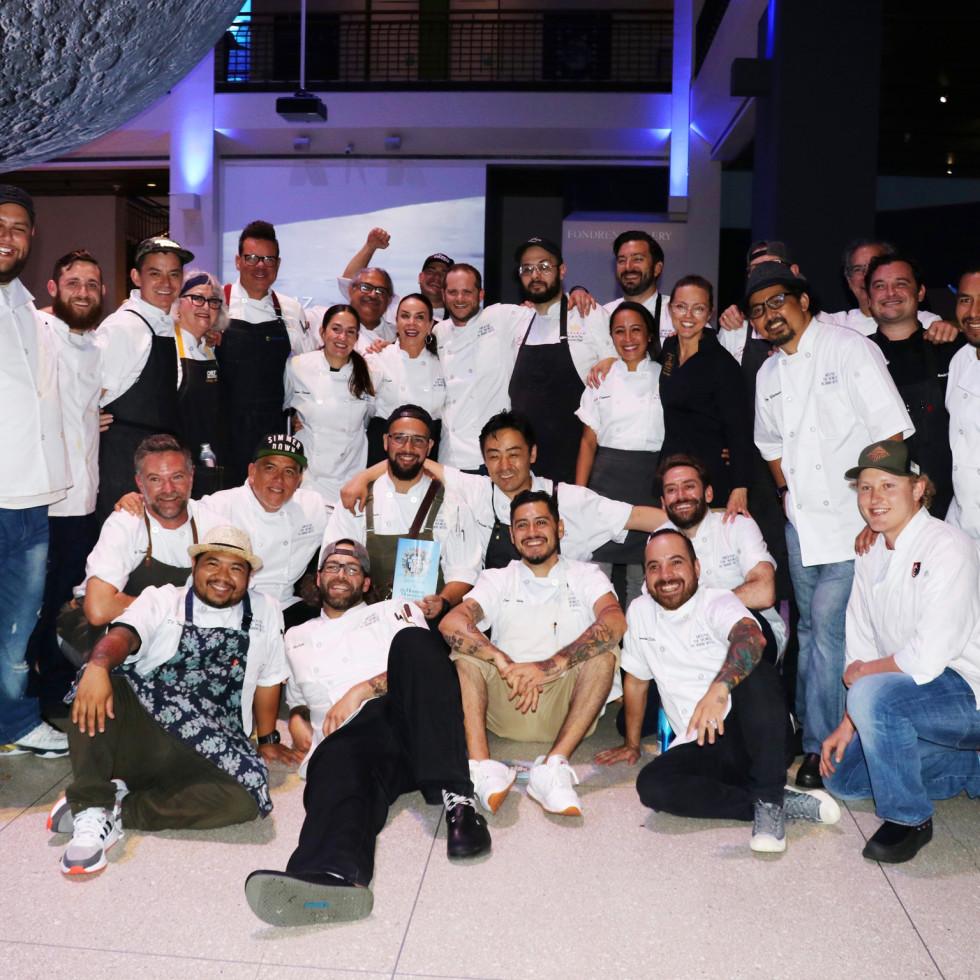 Around the World in 10,000 bites chef team
