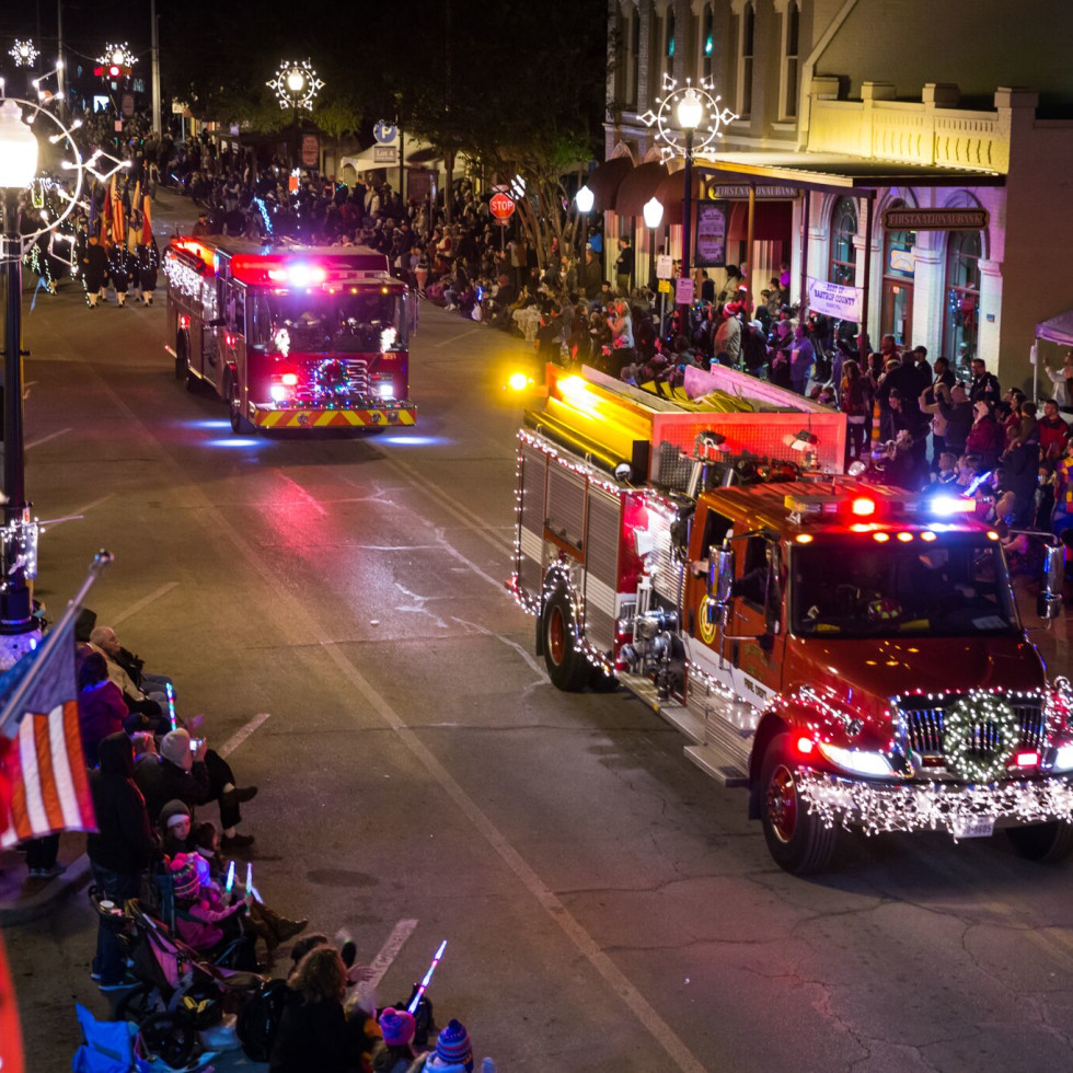 Lost Pines Christmas Lighted Christmas Parade