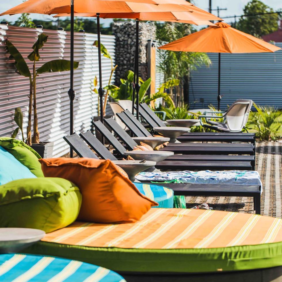 El Segundo Swim Club seating