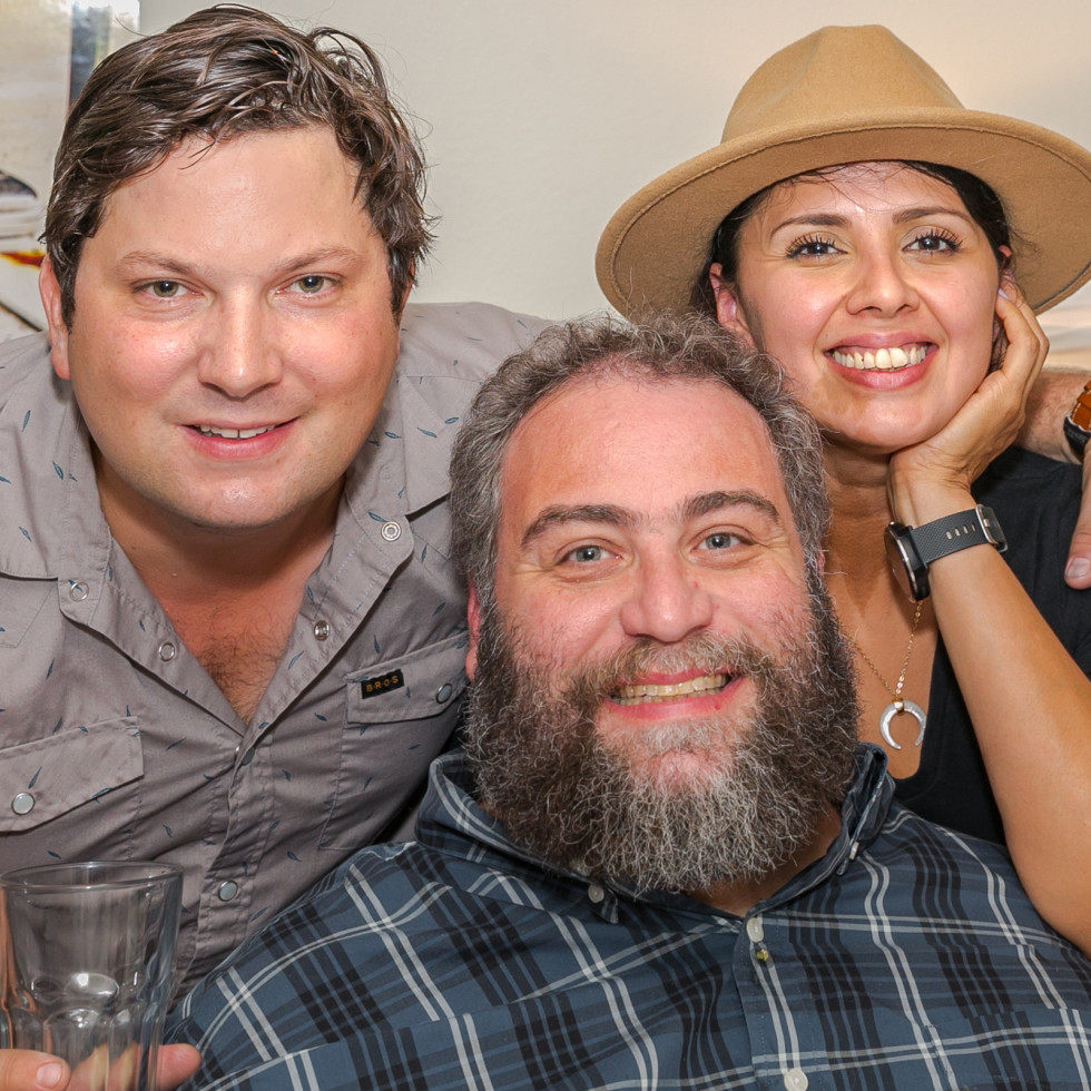 Chris Shepherd cookbook party Tyler Horne Eric Sandler Linda Salinas