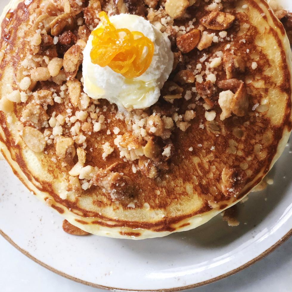 Eberly lemon ricotta pancakes