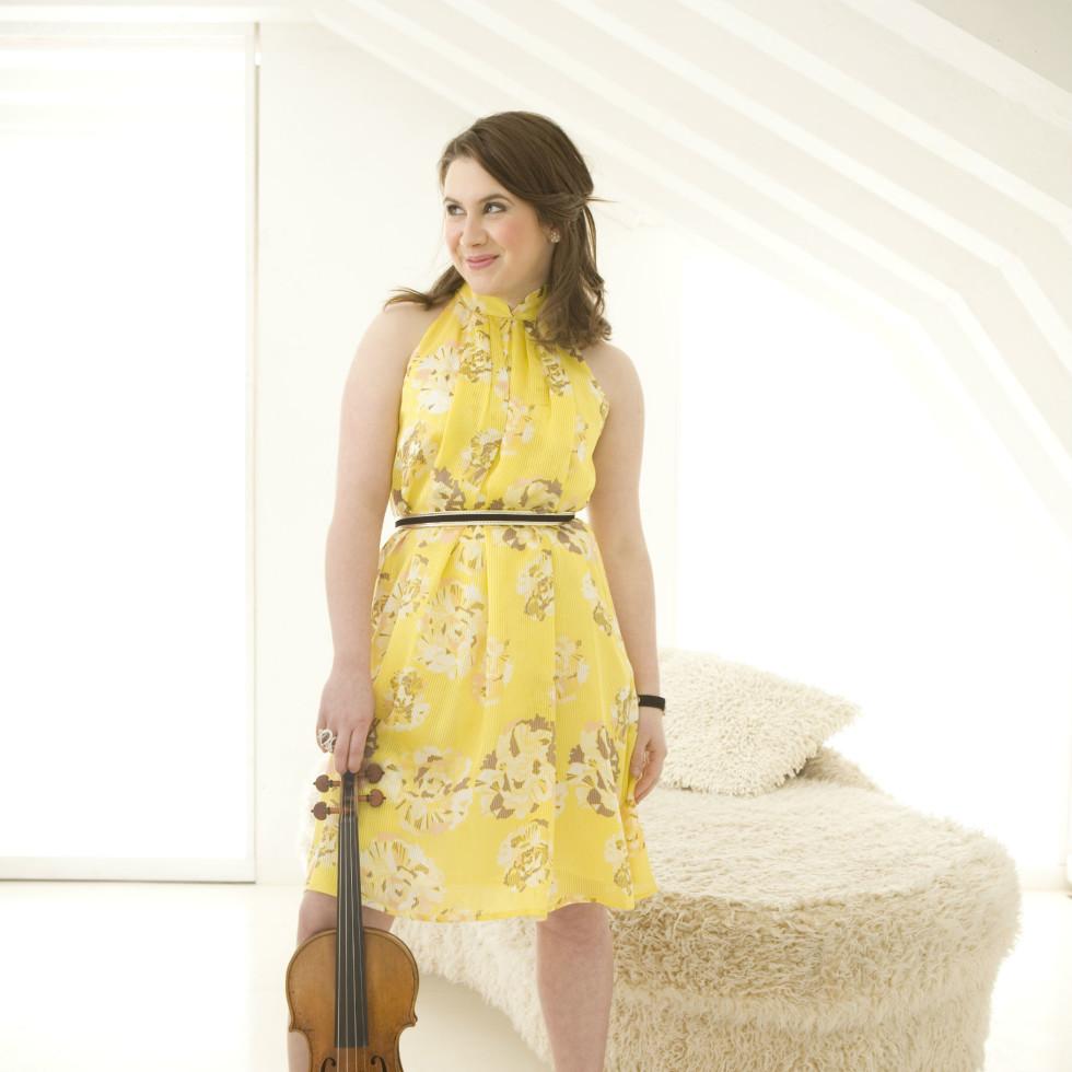 violinist Chloë Hanslip