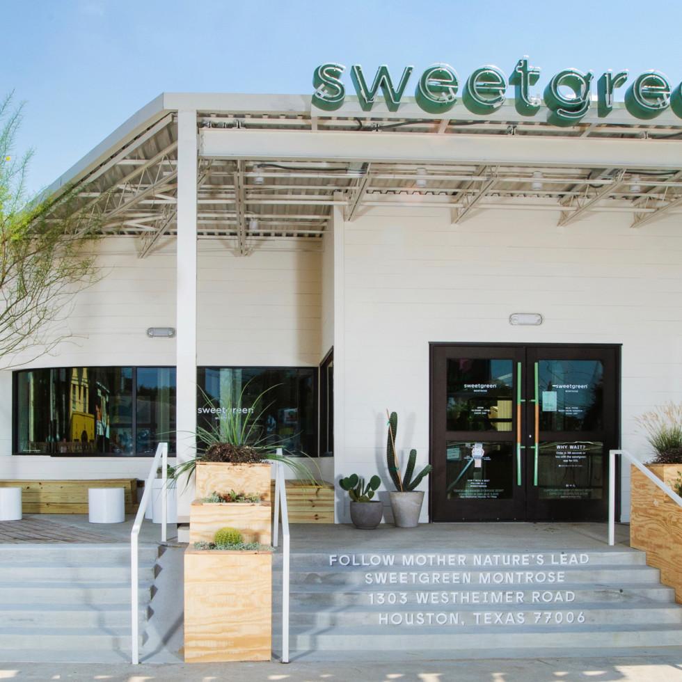 Sweetgreen Montrose exterior