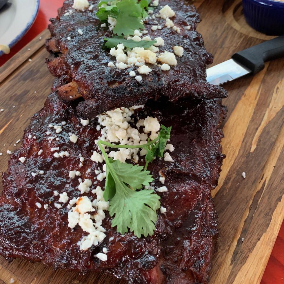 Candente Tex-Mex beef nachos