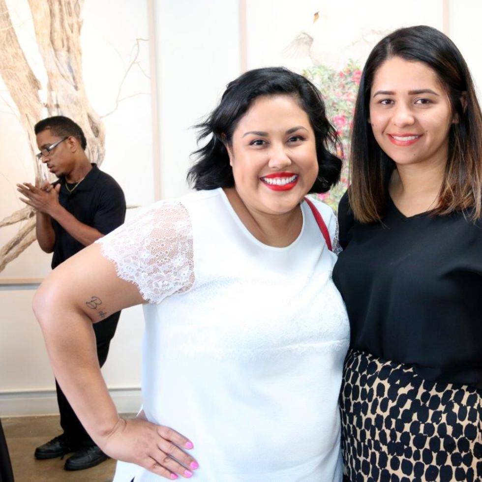 Jessica Ramos and Daenna Martinez