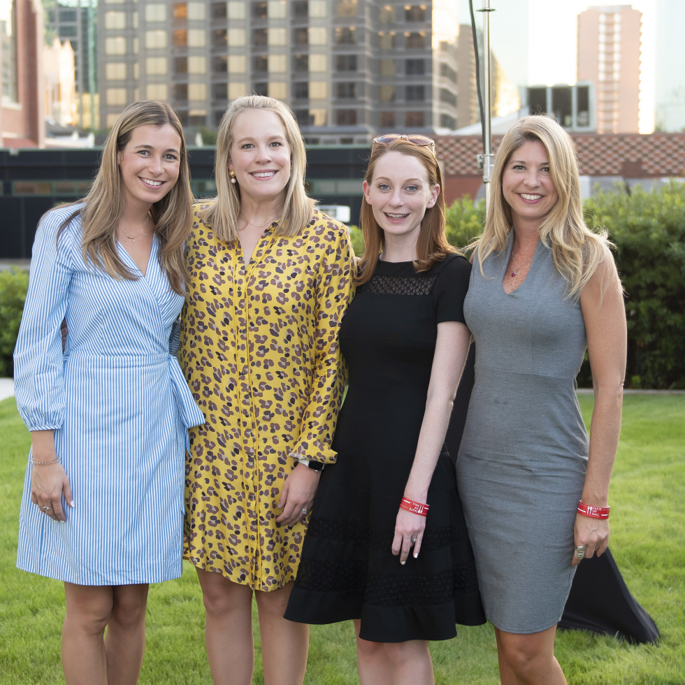 Abby Witkowksi, Ellen Burger, Sarah Hoffman and Starla Crosson