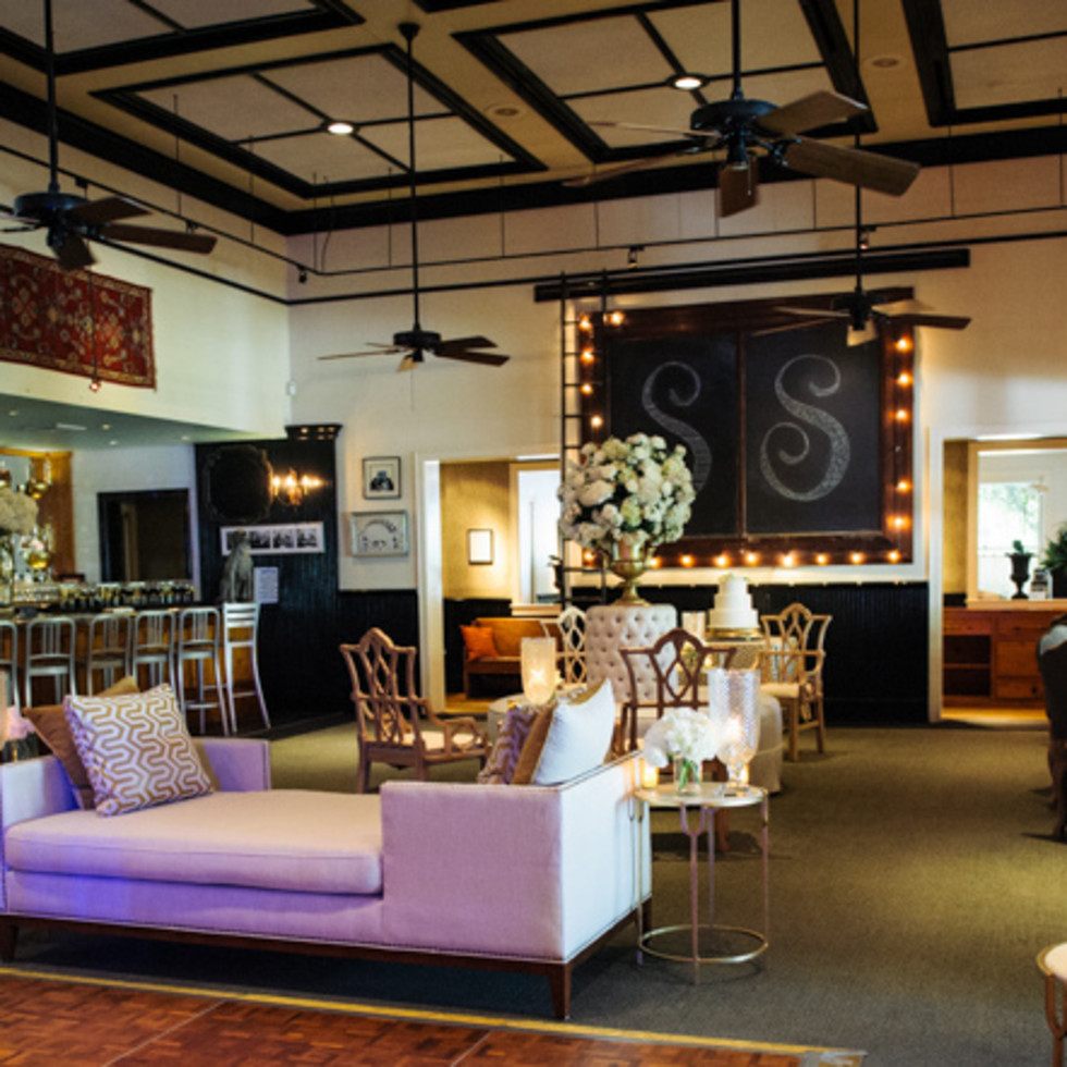 Interior venue, couches