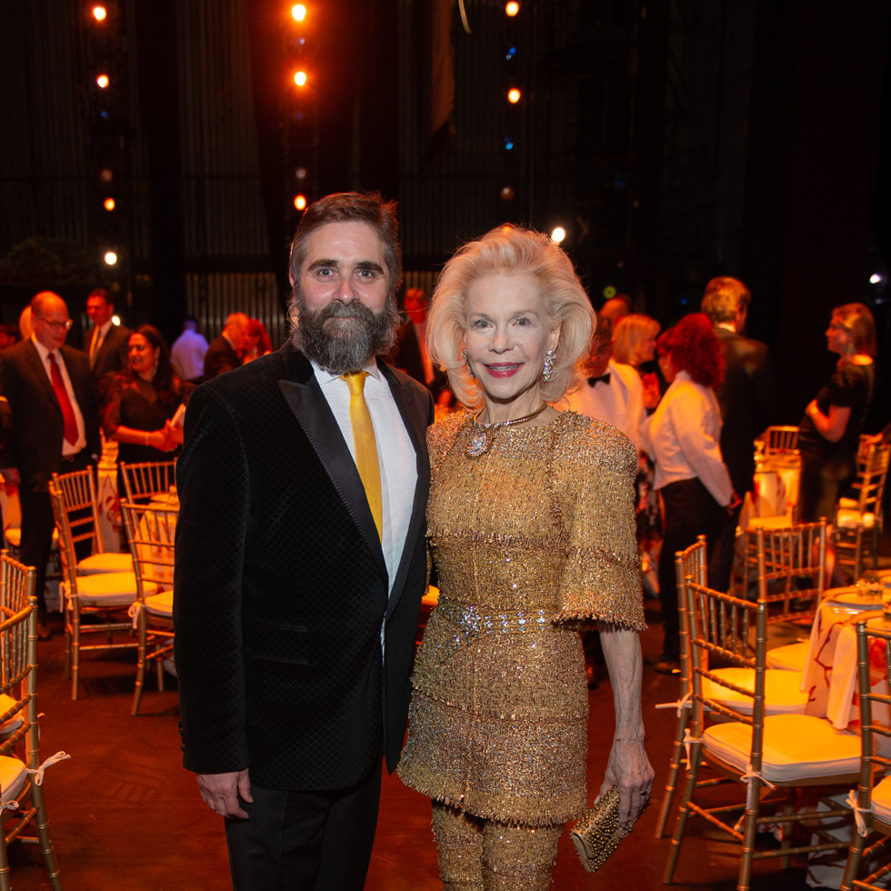 Houston Ballet Onstage Dinner Stanton Welch and Lynn Wyatt