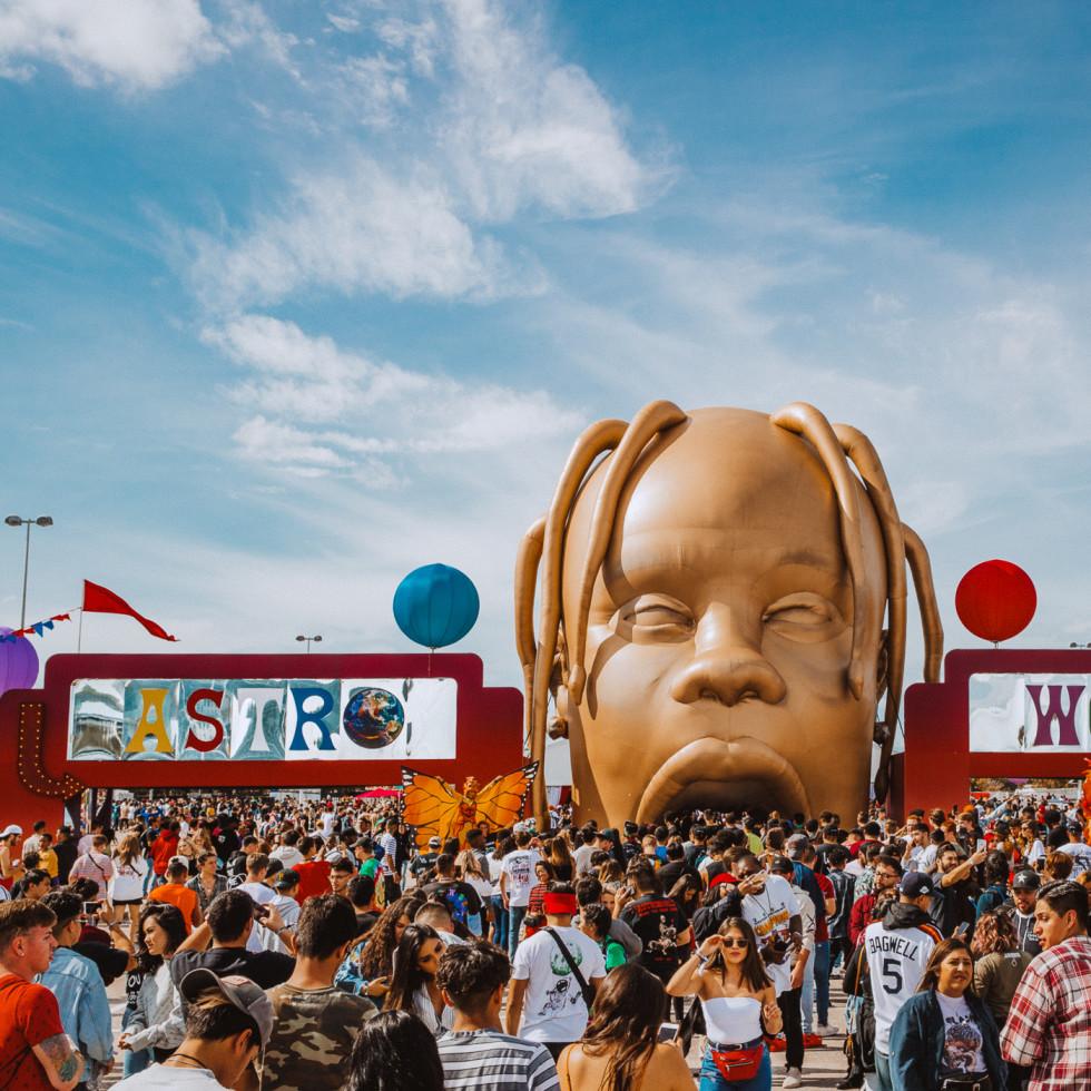 Astroworld Festival Travis Scott 2018