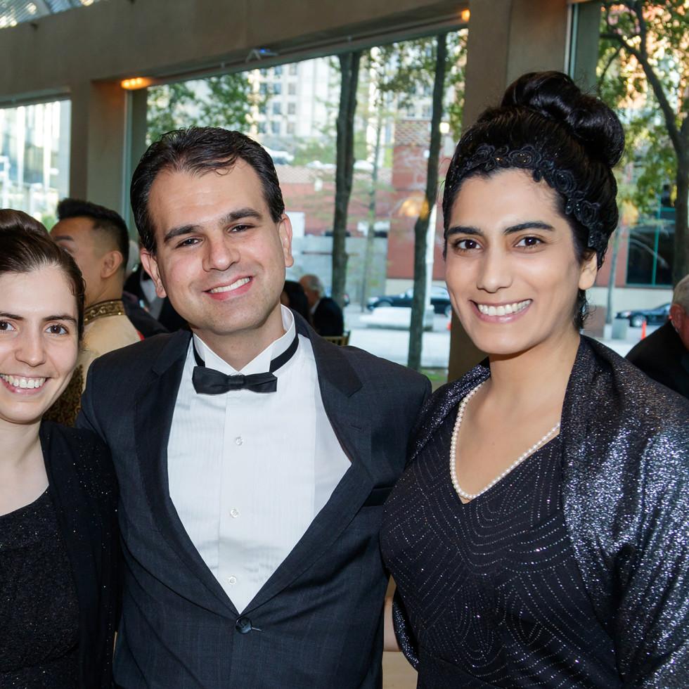 Junia Valente, Daniel Leister, Sarah Valente