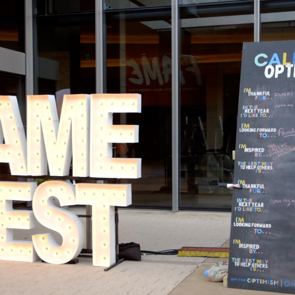 Frost Dallas FAME Fest