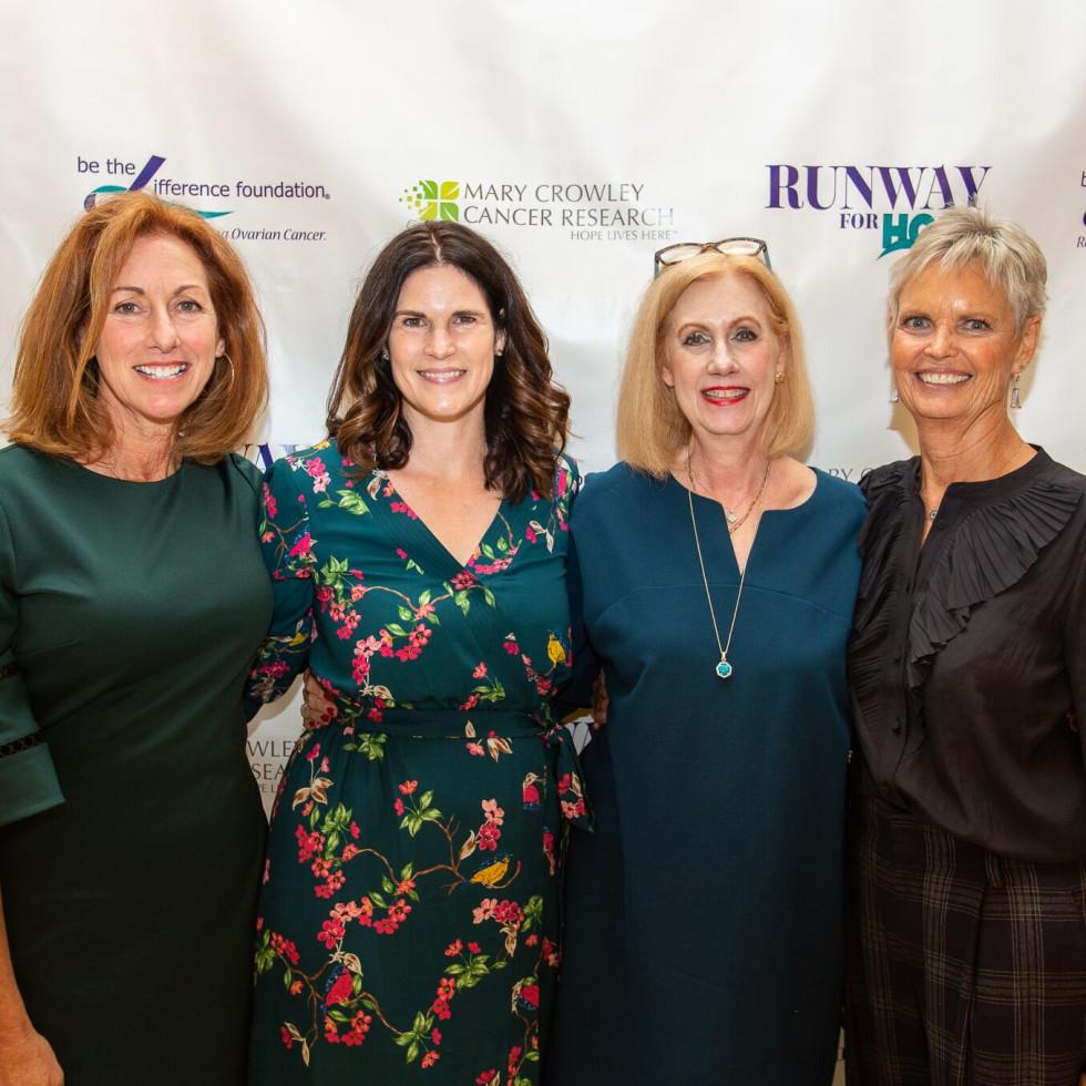 Sheryl Yonack, Elizabeth Gambrell, Deborah Montonen, Lynn Lentscher