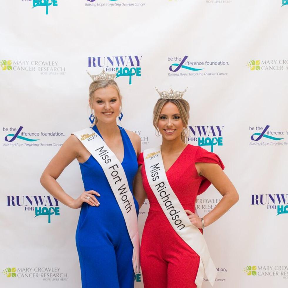 Miss Fort Worth Landry Champlin, Miss Richardson Erica Kuntz