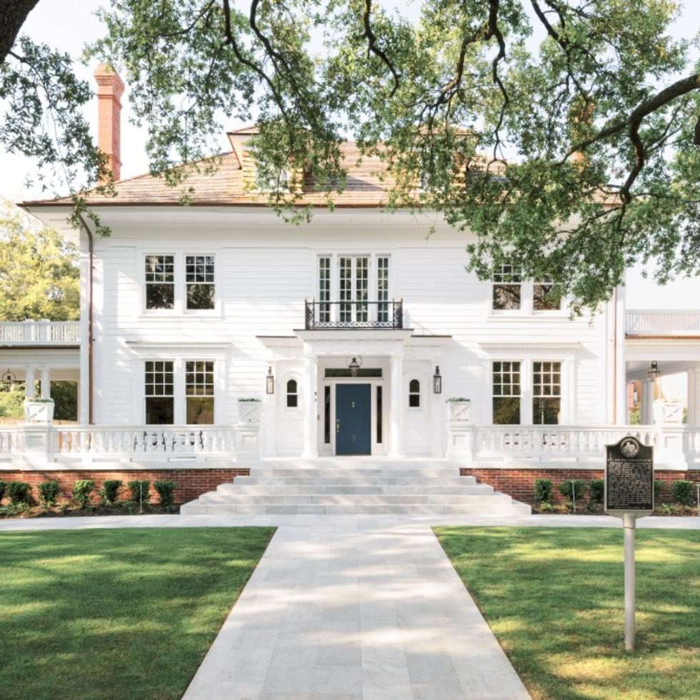 AIA Houston Home Tour 2019 6 Courtlandt Place