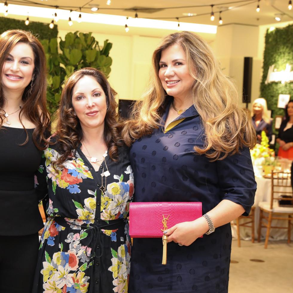 Lunch with Lela PetSet Brigitte Kalai, Sandra Smith-Cooper, Dallas Rowden
