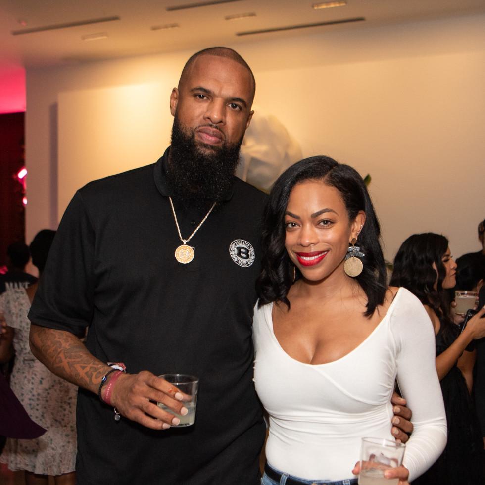 C. Baldwin grand opening 2019 Slim Thug Kayla Jones