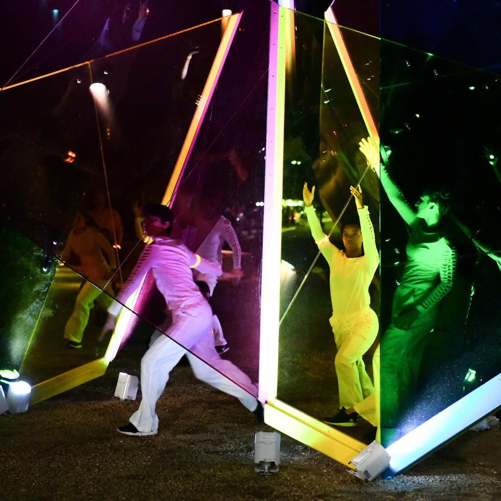Uh Public Art 50th Celebration: dance performance
