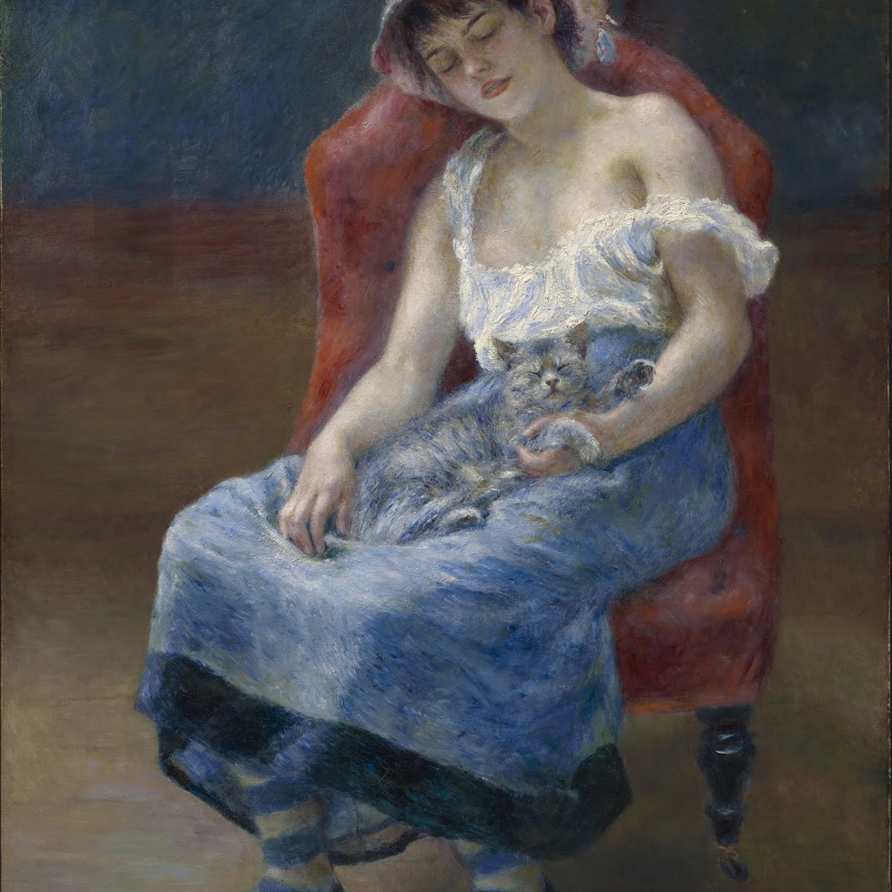 Renoir, sleeping girl
