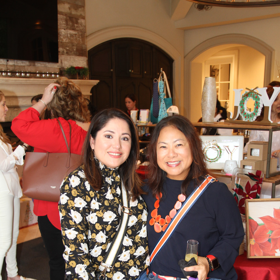 Paige Fertitta Children's Art Project trunk show MD Anderson Margaret Pinkston and Nallely Conley