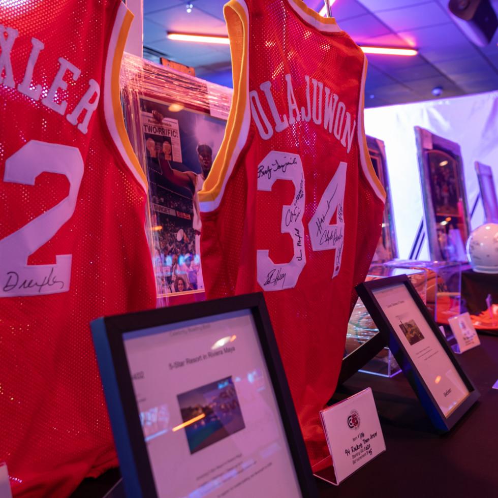 Clint Capela bowling bash 2019 silent auction items