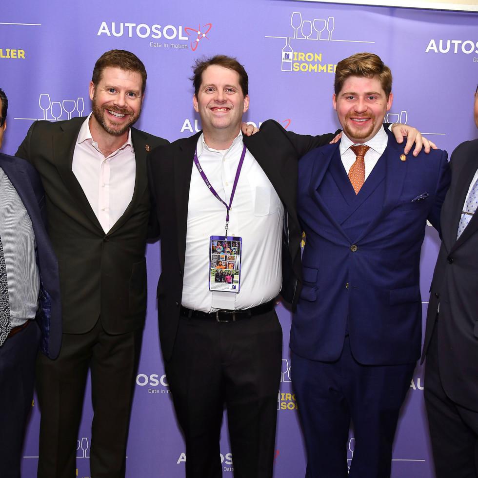 Iron Sommelier 2019 Christian Varas, David Keck, Sean Beck, Jason Mason, Steve McDonald