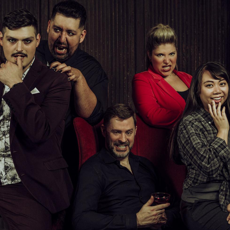 Pulsate Vampire Musical cast