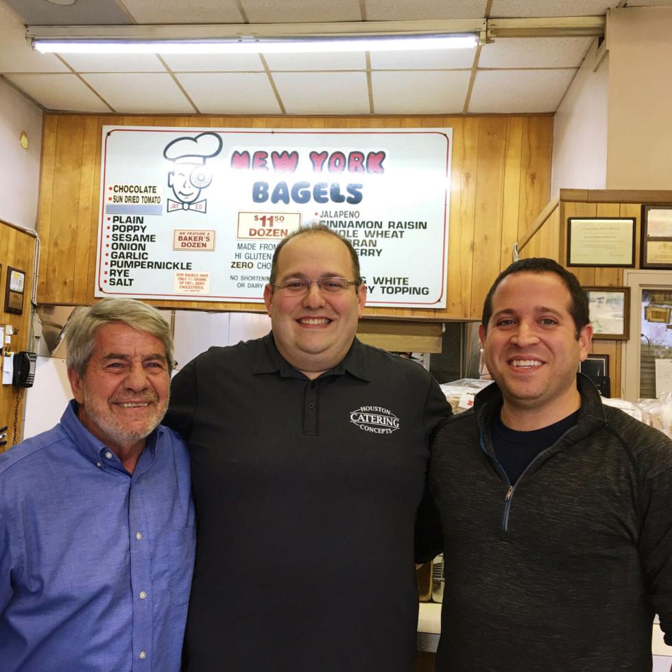 NY Deli coffee shop Ed Gavrila Shaun Leva Michael Saghian